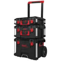 Coffret Packout 3 pièces Trolley + Coffret large + Coffret MILWAUKEE - 4932464244