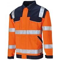 Veste haute visibilité orange DICKIES - T.L - SA30015ORNL