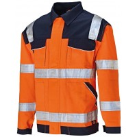 Veste haute visibilité orange DICKIES - T.3XL - SA30015ORN3XL
