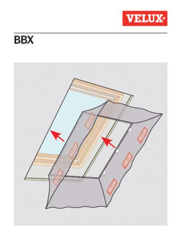 collerette velux pare vapeur bbx fen tre de toit couverture. Black Bedroom Furniture Sets. Home Design Ideas