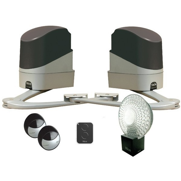 kit automatisme et accessoires pour portail battant popkit nice qpe08659 automatisme porte. Black Bedroom Furniture Sets. Home Design Ideas