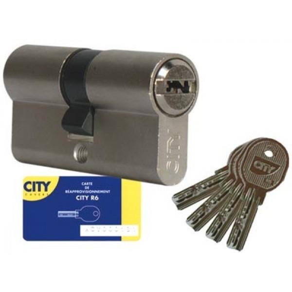 Cylindre city iseo isr6 bouton ou double entr e avec for Fenetre 30x30