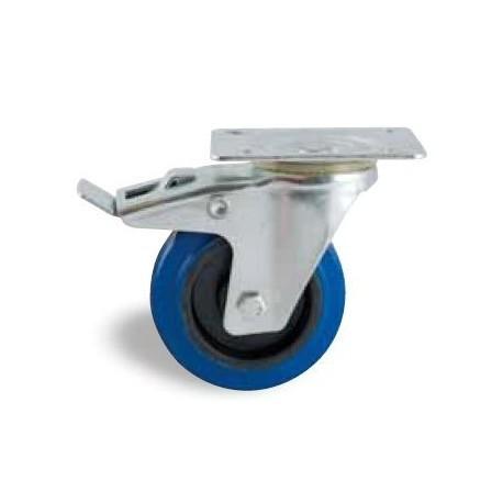 roulette avl pivotante avec frein platine 527 roue roulette consommable maintenance. Black Bedroom Furniture Sets. Home Design Ideas