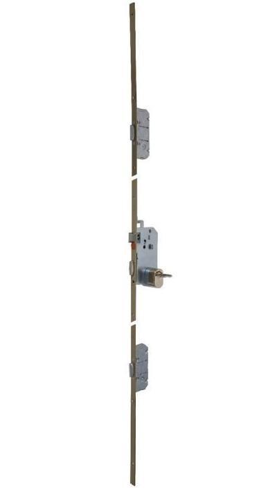 Serrure Points Trilock SGN T AP Cylindre Gâches - Porte placard coulissante avec serrure a2p