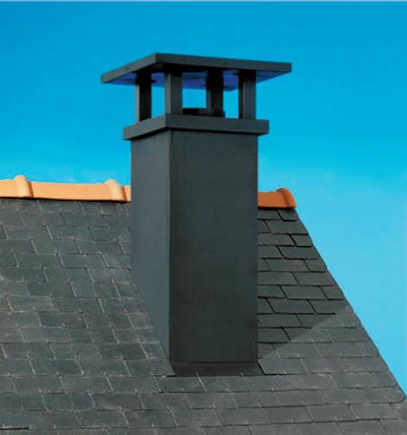 sortie de toit tradinov noir poujoulat sortie de toit conduits couverture. Black Bedroom Furniture Sets. Home Design Ideas