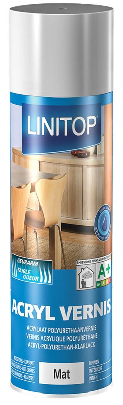 vernis incolore pu l 39 eau linitop acryl durieu mat ou brillant teintes vernis appr ts. Black Bedroom Furniture Sets. Home Design Ideas