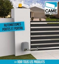 CAME automatisme portes et portails