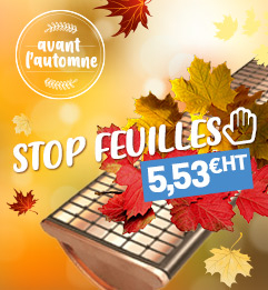 Stop-feuille Draifix BWK - 1 m x 175 mm -