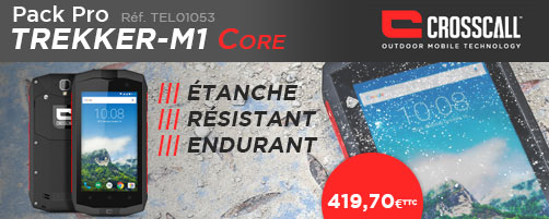 Pack Pro smartphone CROSSCALL TREKKER M1 CORE