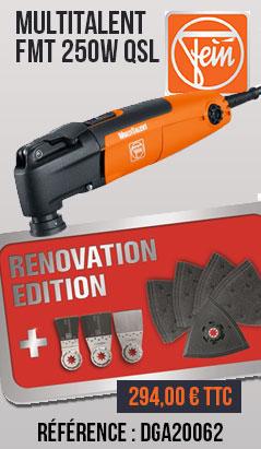 MultiTalent FMT 250W QSL FEIN - édition rénovation - 72295370000