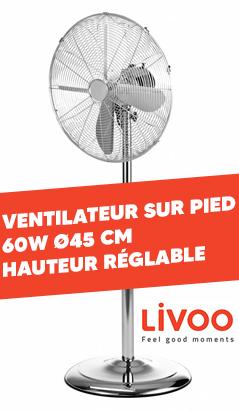Ventilateur LIVOO